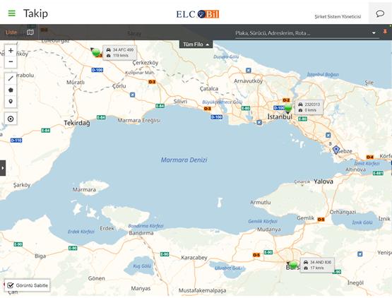 elcobil-araç-takip-harita