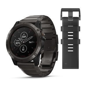 Garmin fenix 5X PLUS Sapphire Titanyum Multispor Akıllı Saat