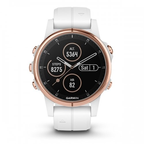 Garmin fenix 5S PLUS Sapphire Multispor Akıllı Saat Rose Gold