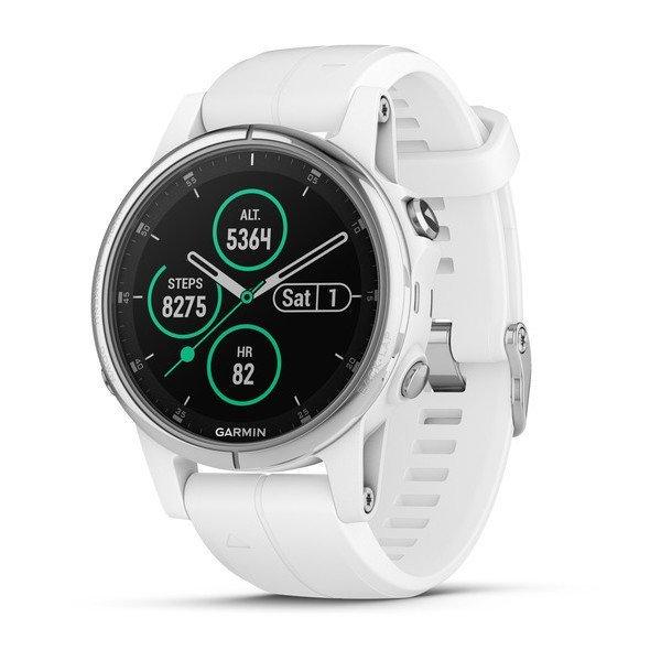 Garmin fenix 5S PLUS Sapphire Multispor Akıllı Saat Beyaz
