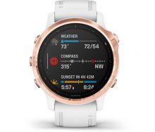 Garmin Fenix 6S Pro Rose Gold - Beyaz Multispor GPS Akıllı Saat
