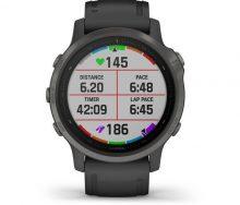 Garmin Fenix 6S Pro Sapphire Multispor GPS Akıllı Saat Siyah