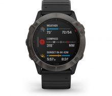 Garmin Fenix 6X Pro Sapphire Multispor GPS Akıllı Saat Siyah