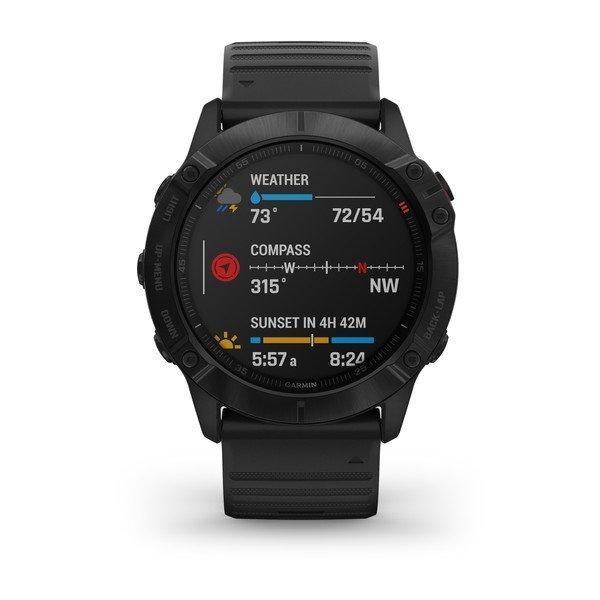 Garmin Fenix 6X Pro Multispor GPS Akıllı Saat Siyah