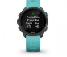 Garmin Forerunner 245 Music Akıllı Koşu Saati - Aqua Mavi