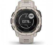 Garmin Instinct Akıllı Saat- Tundra Beyazı