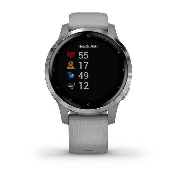 Garmin Vivoactive 4S Gümüş Gri Akıllı Saat