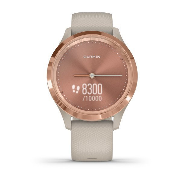 Garmin Vivomove 3S Rose Gold Akıllı Saat-Kum Rengi