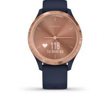 Garmin Vivomove 3S Rose Gold Akıllı Saat-Lacivert
