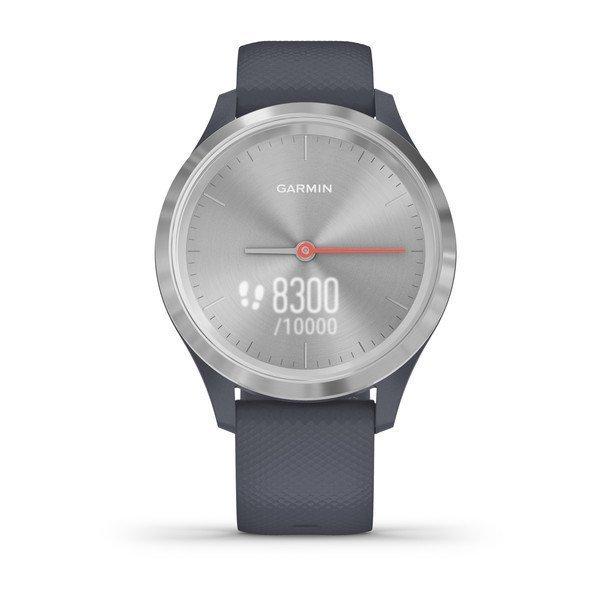 Garmin Vivomove Style Gümüş Akıllı Saat-Yosun Yeşili