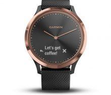 Garmin vivomove HR Rose Gold Akıllı Saat - Siyah