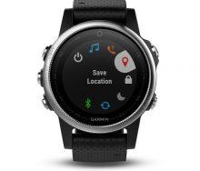 Garmin Fenix 5s Nabız Ölçerli Multispor Akıllı Saat-Siyah