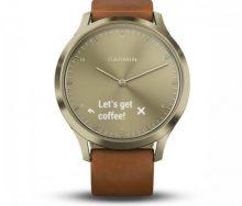 Garmin Vivomove HR Premium Akıllı Saat - Deri Kayış
